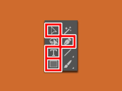 イラストレーターの基本ツール